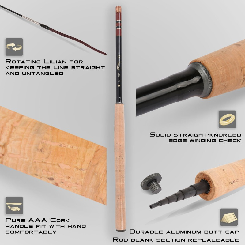 Tenkara Whole Kit (11 ft./12 ft./13 ft.) - The Complete Collection